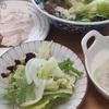 豆乳スープとざっくり豆腐サラダ