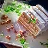 メープルとくるみのショートケーキ