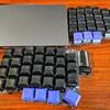 自作キーボードとMagic Trackpadを一体化させたSparrow62