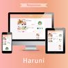 春らしいピンクグラデーションのはてなブログテーマ「Haruni」を投稿しました