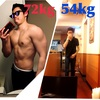 ガリガリが太るためにやった3つのこと【54kg→72kg】
