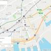 Mapbox GL JS)現在地表示、マーカー表示、地点検索、ルート検索。