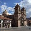 インカ帝国の首都であったクスコ