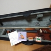 【買ってみた】楽天で激安1万円のバイオリン購入してみました!