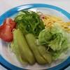 うちごはん・自炊 Vol.295 <麺1・2・3 ペペロンチーノ・野菜たっぷり冷やし中華・チャパグリ>