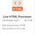 Visual Studio Codeでhtmlのプレビューを表示する