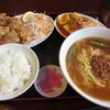 木更津 台湾料理 真味 台湾ラーメン+唐揚ランチ