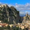 【イタリアの街】モリーゼ州:磐から生える鐘楼と崖っぷちのお城
