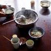 つくねと水菜のおろし鍋