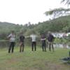 静かな湖畔でソロキャンデビュー⁈ 無料の千代田湖キャンプ場