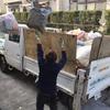 熊本 家アパート解体前のゴミ処分 エアコン取外しガス回収処分賜ります。