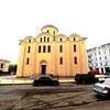 ウクライナ旅行[49]  キエフの観光スポット:ポドル地区の教会(1)