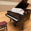 ホールでYAMAHA CFⅢ SAピアノを弾いてきました!