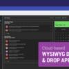 Angularコードを生成できる、クラウド型ビジュアルエディタ Indigo.Design App Builder プレビュー版リリース!