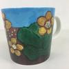 フィンランドの自然がはっきりと描かれたマグカップでヘルヤ・リウッコ・スンドストロムデザインです。