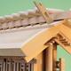 相撲の土俵の上にある吊り屋根は厚屋根だったんだな しかもあれは神明造りだ