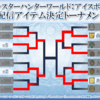 【MHWI】アイテムトーナメントベスト4!配信決定した4種と1位の配布数など紹介