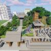 鐘楼と墓地と仏堂を作る【マインクラフト】