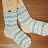 靴下(2号)を編む。 #02