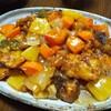 今日の晩飯 酢豚とチャーハンを作ってみた(^_-)-☆