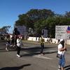 アラモアナでマーティン・ルーサー・キング・デーのパレード