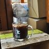築地の「Turret Coffee」でブラックコーヒー(アイス)。