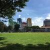 シンガポールの高級住宅地と団地