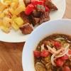 牛肉の切り落とし保存方法と、サイコロステーキのバルサミコソース
