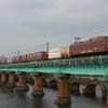 福岡撮り鉄遠征 1日目⑧ 多々良川で撮影 貨物列車編
