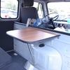 ロシア車UAZ テーブル固定はボルトとナット。木ネジ使うと全部落ちてる。
