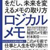 【新刊】 仕事と人生を切り開く 村本篤信のロジカルメモ