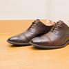 【反省】茶色の靴を黒のクリームで磨いて、履いたらひどいことになった話。