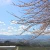 植原南公民館から松本盆地を眺める