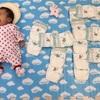 赤ちゃんが一ヶ月の記念に!