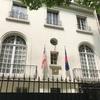 パリのマレーシア大使館でハリラヤ祭のイベント