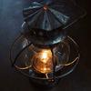 レトロっぽいブリキのランタン lantern