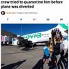 オランダの格安航空会社『トランサヴィア』で5月末に男性乗客の体臭がきつすぎて緊急着陸!2月末には乗客がオナラを連発して緊急着陸したばかり!!