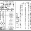 株式会社ペライチ 第5期決算公告 / 減少公告
