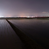 巨椋池の夜景