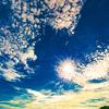 うろこ雲がキレイなカロンビーチをお散歩♩
