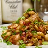 【レシピ】鶏肉とナッツの甘辛ネギ味噌炒め