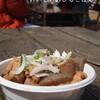 ●茨城県「カシマスタジアム」のもつ煮とつみれ汁
