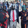 【CMLL】ルチャドール達がメキシコシティでの活動正常化を要求するデモ行進を実施