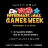 ポスター「International Games  Week 2019」 #ALAIGW