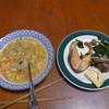 幸運な病のレシピ( 872 )昼:餅1つ食って血糖値250mg/dl超えたので納豆スープを作った。