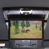 CX-5・CX-8商品改良車でオプション設定されたCD/DVDプレイヤーの取り付け位置。