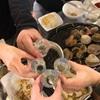 旅行記 釜山食い倒れ旅に出発!スギネチョゲチョンゴルで焼き貝を堪能!
