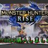 「MONSTER HUNTER RISE」購入‼ついでにamiiboも揃えちゃいました!