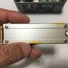 Intel NUC パソコン の SSD ヒートシンクを 長尾製作所 M.2 SSD用ヒートシンクカバーSS-M2S-HS02 に変更した話