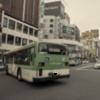 バス停での作法。
